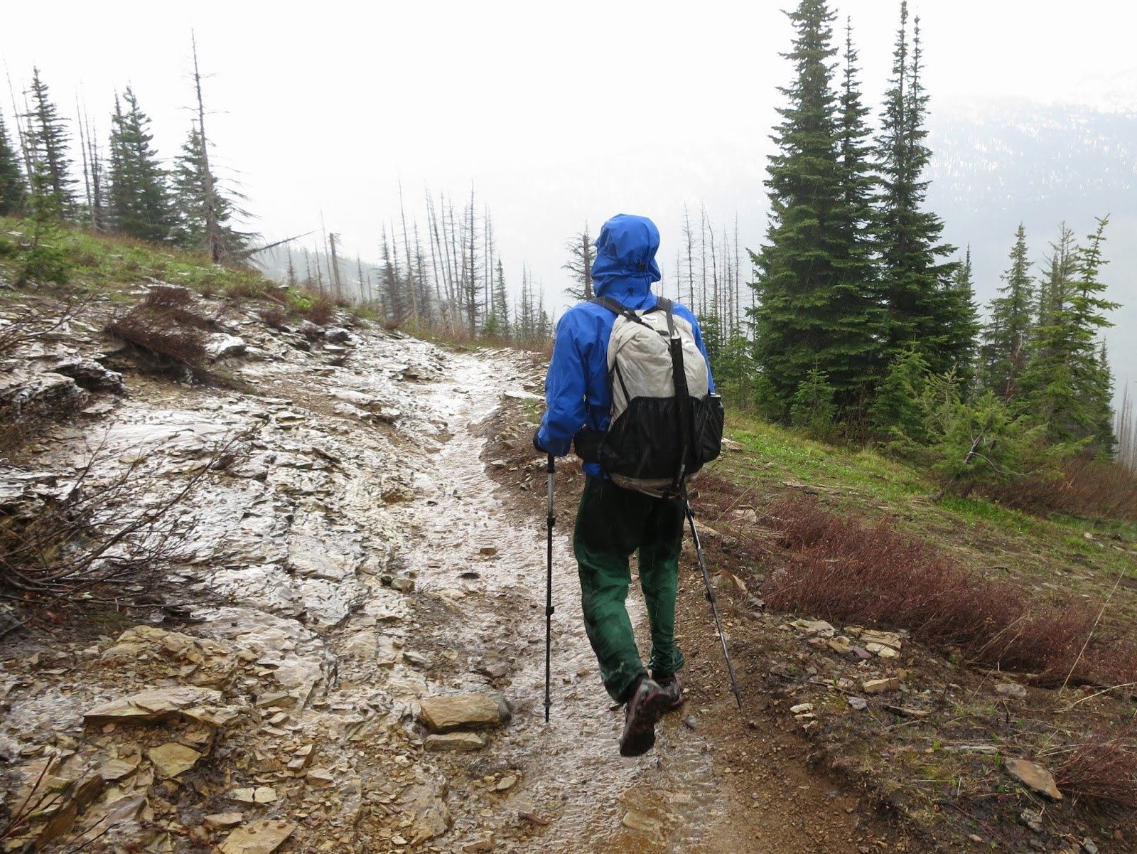 Making miles in Glacier National Park. Hyperlite Mountain Gear 2400  Southwest. 2012. 679d350b8