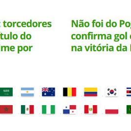 Brasil: estréia hoje na copa do mundo 2018