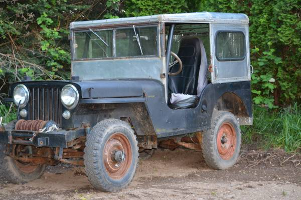 Craigslist Seattle Cars By Owner >> 1947 JEEP CJ2A Willys | Auto Restorationice