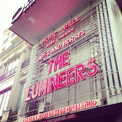concert de The Lumineers à l'Olympia