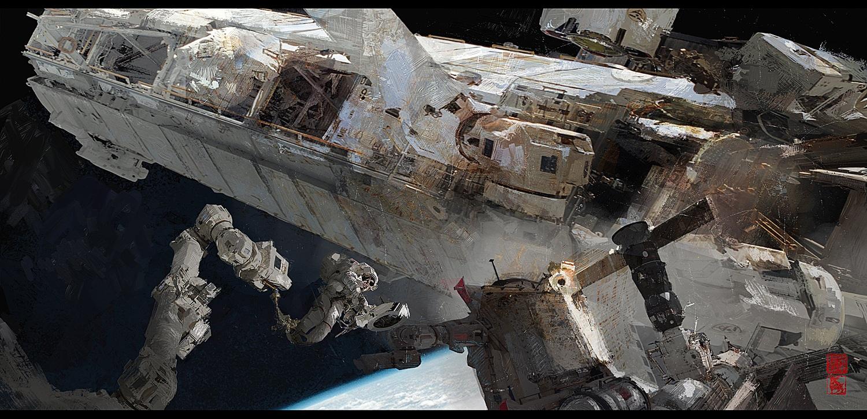 Space Station | Donglu LittleFish