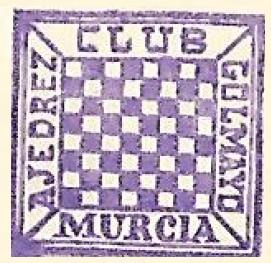 Escudo del Club Ajedrez Golmayo de Murcia