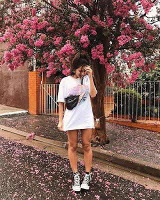 poses tumblr de primavera con flores