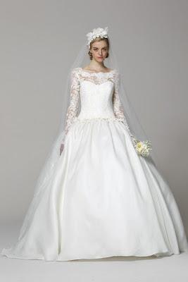 Marchesa wedding dress lace sleeves