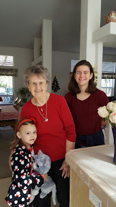 Jennifer, Great Grandma T. & Amanda