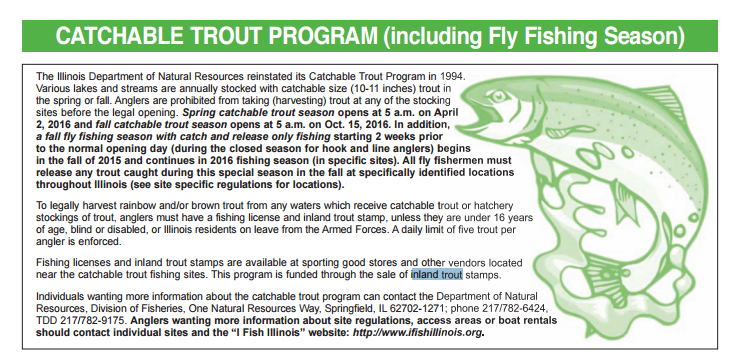 Capitol outdoors illinois 39 hunting and fishing resource for Illinois dnr fishing license
