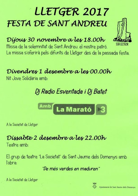 Esguard de Dona - Festa de Sant Andreu 2017 - Lletger