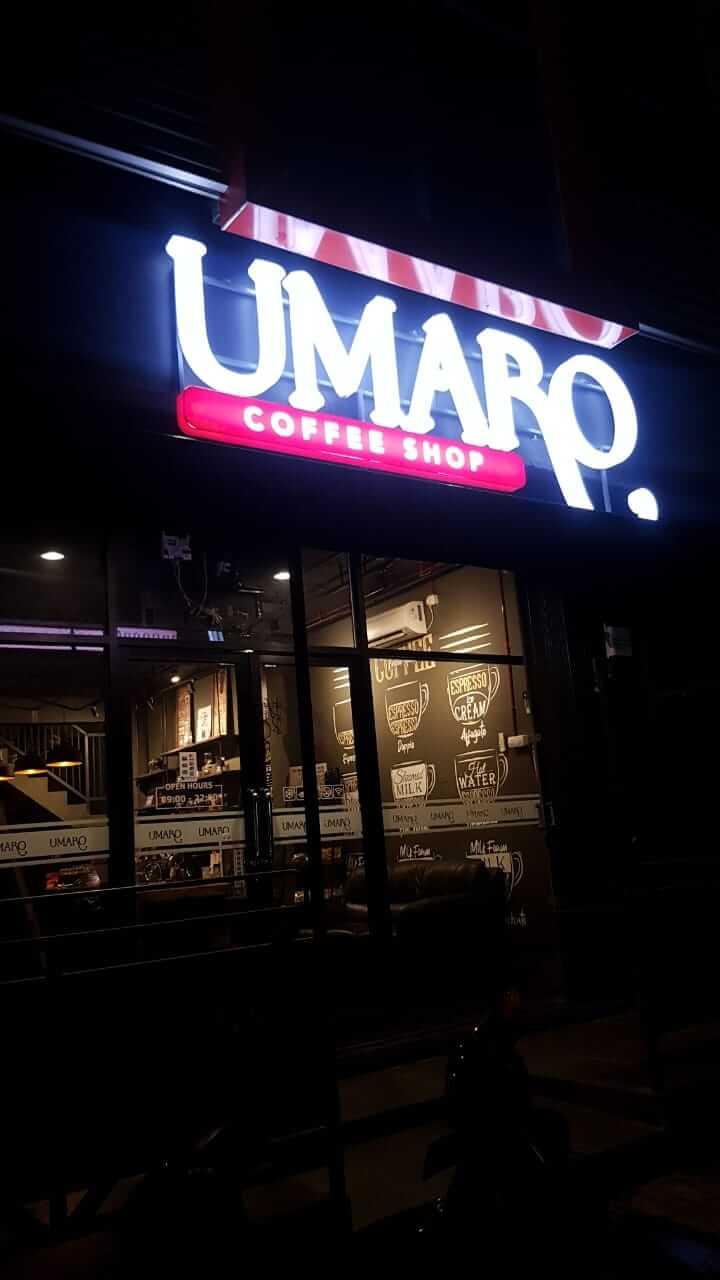 Cafe Umaro Jl. Sukaraja Gunung Batu Bandung