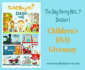 Children's DVD Giveaway