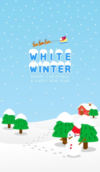 'White winter' Snowy winter landscapes