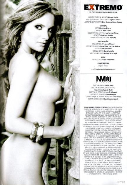 Mariana Seoane desnuda H Extremo Octubre 2007 [FOTOS]-3