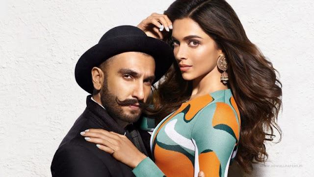 Ranveer Singh and Deepika Padukone Hot HD Images