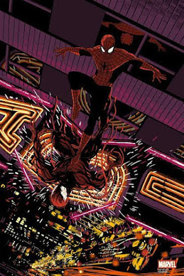"""Spider-Man vs Carnage"" Marvel Screen Print by Raid71 x Grey Matter Art"