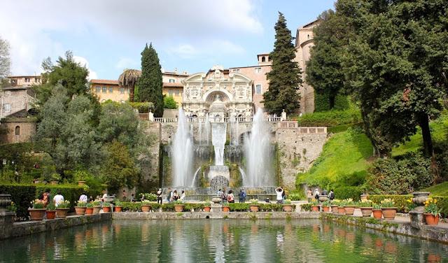 Villa d'Este em Roma