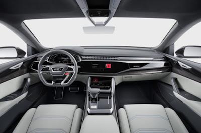 Audi Q8 SUV Concept wallpaper