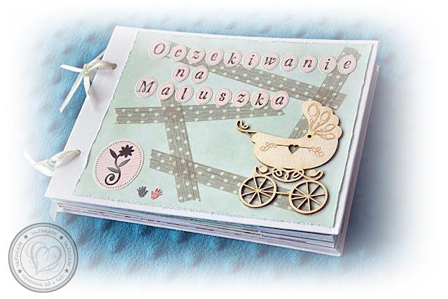 Bardzo kwiecisty album ciążowy