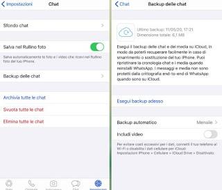 WhatsApp iCloud