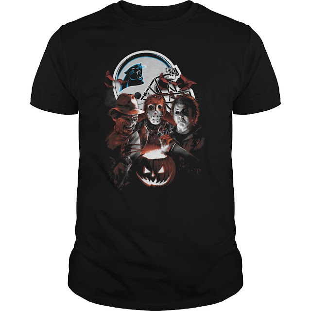 Carolina Panthers Halloween Scream Team Shirt