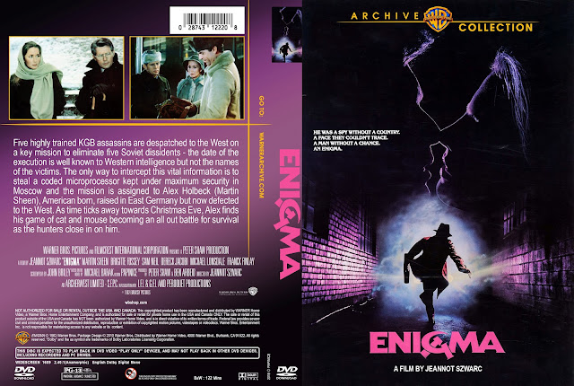 Enigma DVD Cover