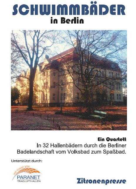 Titelkarte von Schwimmbäder in Berlin: ein Quartett.