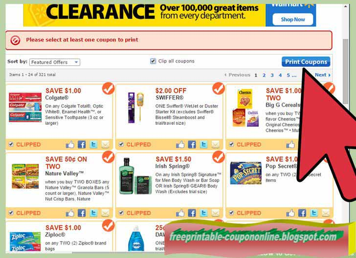 Printable coupons for walmart 2018