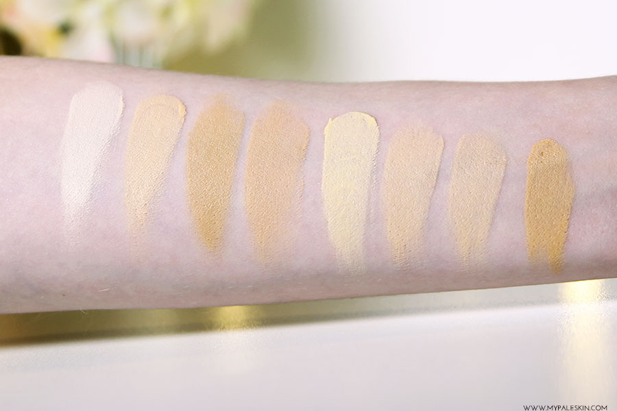 My Pale Skin Concealers For Pale Skin Pale Test 10 Make
