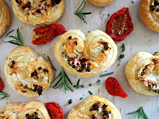 Herbed Savory Palmiers