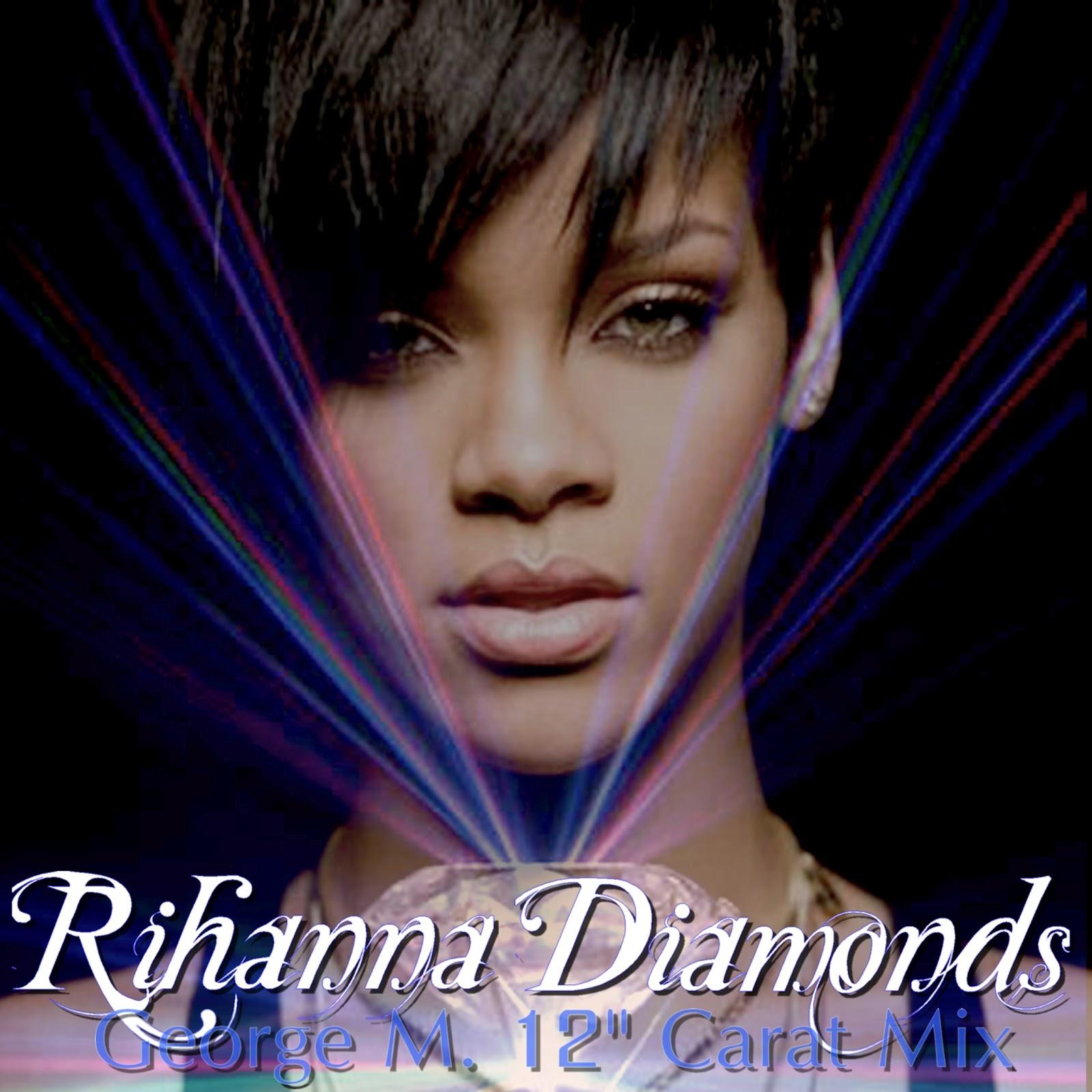 Ноты diamonds rihanna.