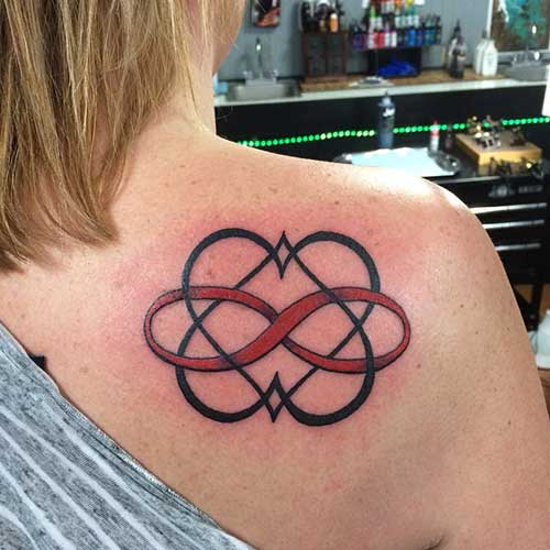 sonsuzluk sembolü dövmeleri