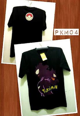 Kaos Distro POKEMON Premium Kode: PKM04