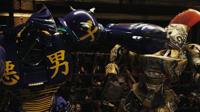 Otro de los combates que pueblan la película Acero Puro