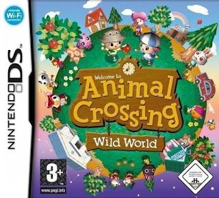 Animal Crossing: Wild World, nds, español, mega