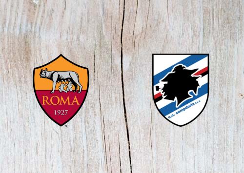 Roma vs Sampdoria Full Match & Highlights 11 November 2018