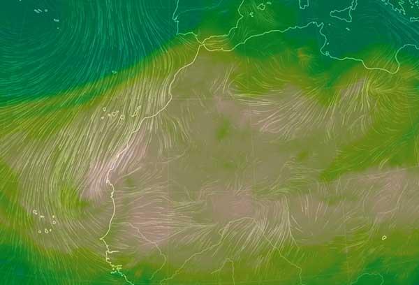 vídeo La calima acompañará a la ola de calor en Canarias, julio 2018