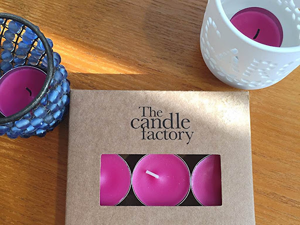 The Candle Factory - Velvet rose Tealights