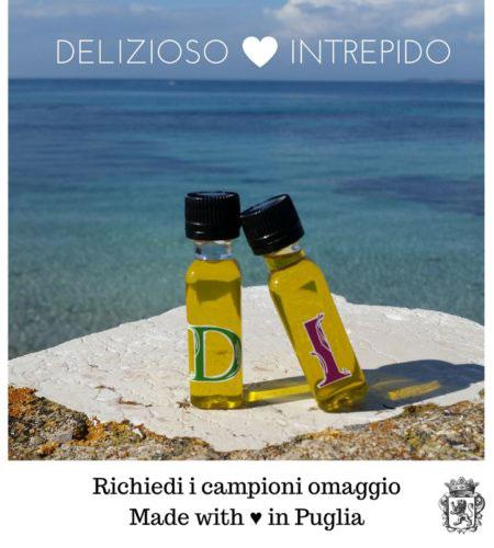 2 campioni gratuiti Olio extravergine d'oliva Mazzarrino