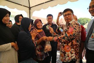 TPID Kota Cirebon Gelar Pasar Murah Di Perumnas
