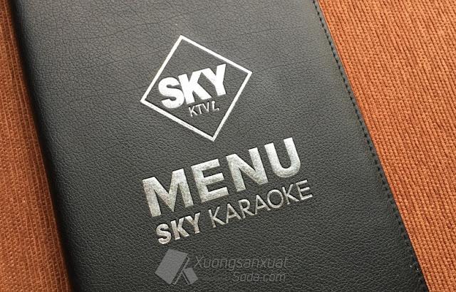 menu karaoke