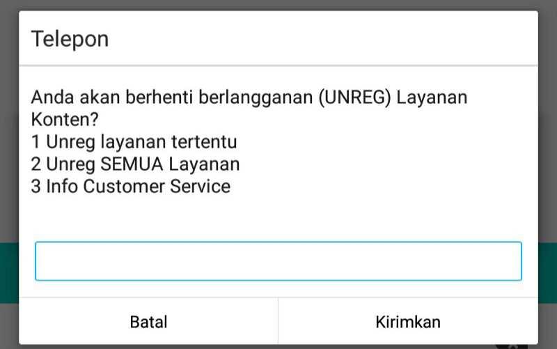 bisa jadi nomor teman terdaftar di salah satu  Cara Unreg/Berhenti Dari Semua Layanan SMS Penyedot Pulsa Yang Tidak Jelas Untuk Telkomsel, Indosat, XL dan AXIS