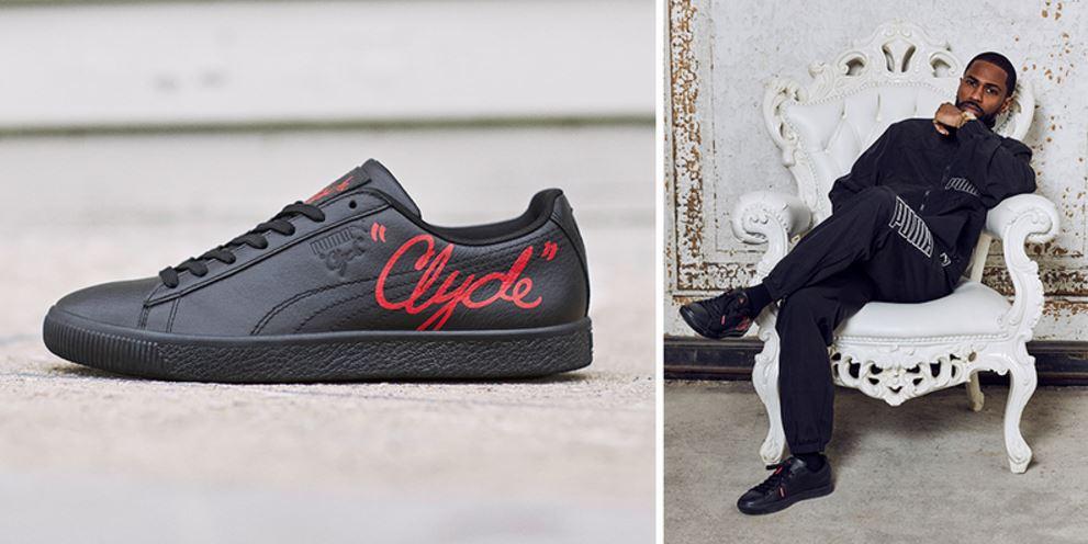 buy popular 6ed49 98be4 THE SNEAKER ADDICT: Big Sean x Puma Clyde Sneaker (Images + ...