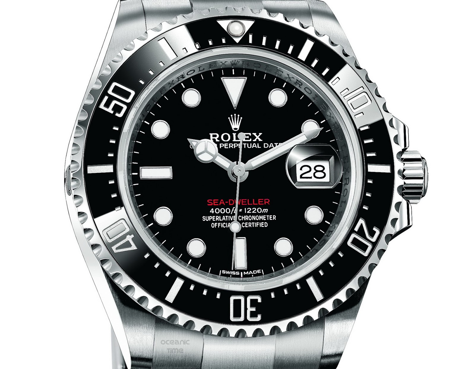 oceanictime rolex sea dweller ref 126600. Black Bedroom Furniture Sets. Home Design Ideas