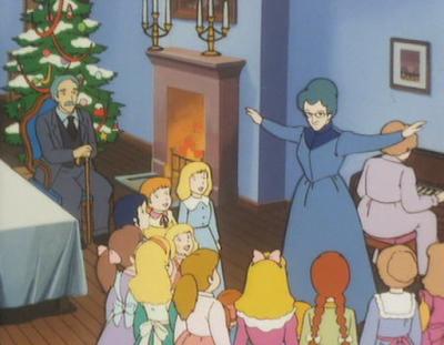 Princesse Sarah Au Revoir Sarah épisode de Noël