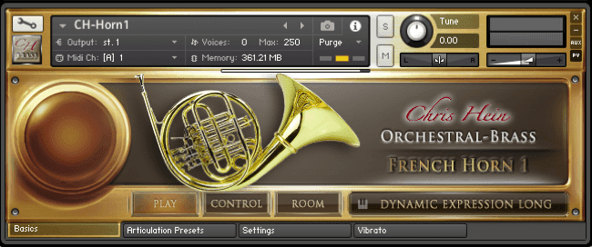 Chris Hein - Orchestral Brass EXtended KONTAKT Library for free