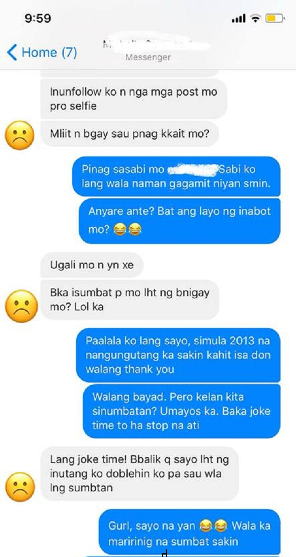 Woman Gets Blocked by Ungrateful Friend Who Wants to Borrow More Money