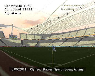 PES 6 Stadiums Olympic Stadium of Athens