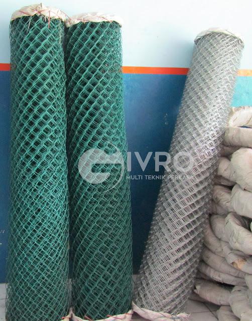 Kawat Harmonika PVC dan Galvanis dengan harga pabrik lebih murah
