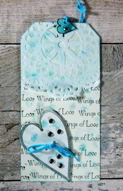 How to Create Wedding Themed  Tags With Hearty Doodles Stamps 4