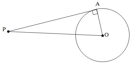 Persamaan Panjang Garis Singgung Lingkaran Rumus Dan Contoh Soal Materi Kelas