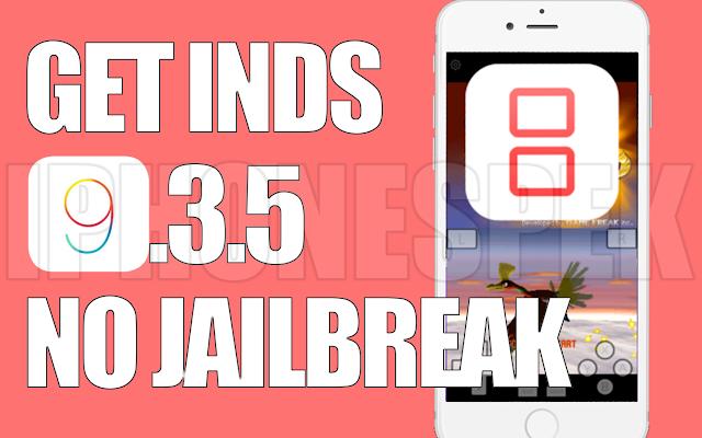 How to install Nintendo DS iOS 9 3 5 - 9 No JAILBREAK iNDS