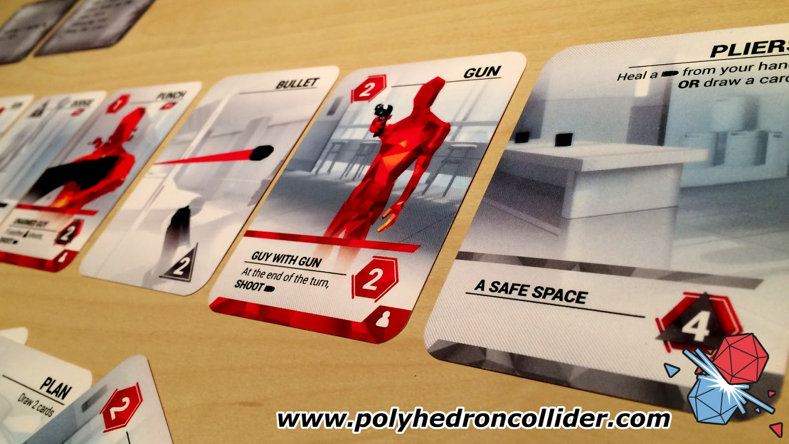 Superhot the card game obstacle line
